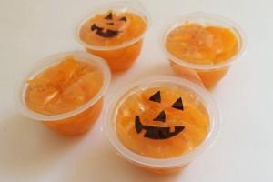 Jack-O-Lantern Fruit Cups